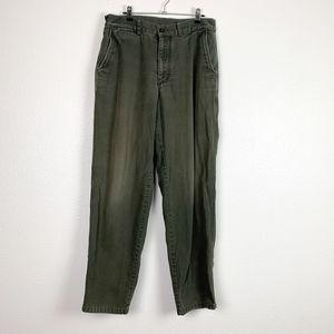 Patagonia Green Organic Cotton Straight Leg Pants